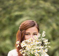 Seasonal wedding flowers for a summer bouquet