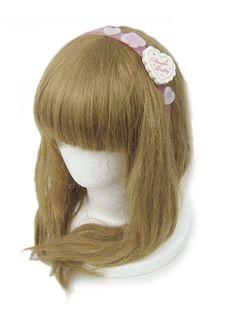 Angelic Pretty Wonder Cookie Headband (White x Pink)