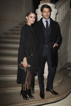 OP & JH - Valentino Spring 2016 Couture Fashion Show Front Row - January 27, 2016