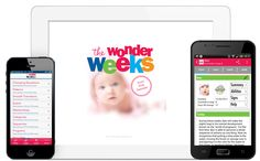 The Wonder Weeks App available on iPhone, Android and Windows Phone!