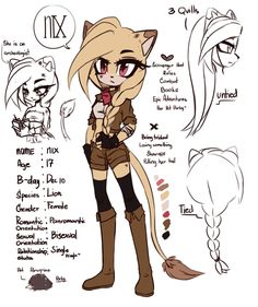 NIX the lion by Envyushi on DeviantArt Sonic The Hedgehog, Silver The Hedgehog, Character Concept, Character Art, Blaze The Cat, Sonamy Comic, Character Prompts, Ahegao, Sonic Adventure
