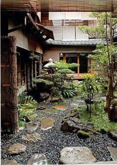 Japanese garden, Japan. Danna