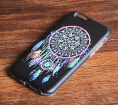 Black Colorful Dreamcatcher iPhone 7 plus 6s/6 Tough case iPhone 7 Protective case 246