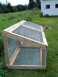 Compost Bin- ooh this is pretty and very functional too because it allows air flow but still has a top to keep the chicky mommas out