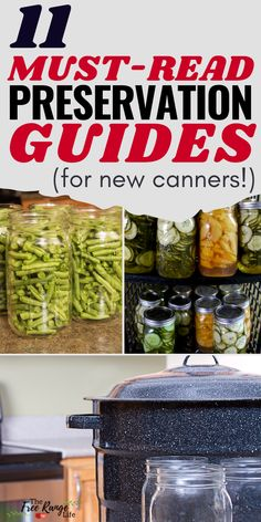 Are you new to canning- either in a water bath canner or a pressure canner? Read up and learn all the basics by checking out these 11 in depth preservation guides that are all about canning! Take control of your food source and learn about food preservation and canning today! Pressure Canning Recipes, Canning Tips, Pressure Cooking, How To Make Sauce, Canning Granny, Canned Food Storage, Healty Dinner, Pressure Cooker Chicken, Fish And Meat