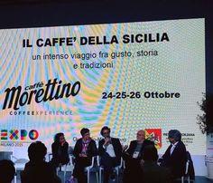 """Grandissimo successo ieri ad Expo per il primo racconto de Il Caffè della Sicilia """"Aroma di famigli..."""
