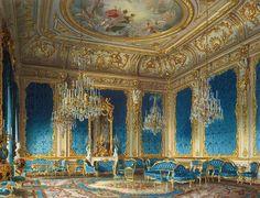 The mansion of von Stieglitz: The Blue Drawing-Room. 1870