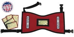 Quick-Ship Service Dog Vest with FREE patches and 5 FREE Info Cards In Clear Pocket ** Insider's special review you can't miss. Read more  : Harnesses for dogs