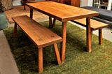 super casual dining table/benches