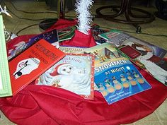 This link is to all her Christmas book activities. Read one book a day & make a corresponding ornament!
