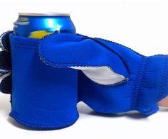 beer holding glove