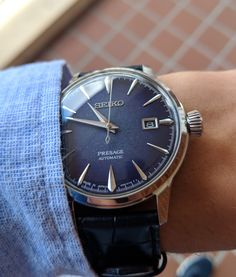 Pocket Watches, Wrist Watches, Watches For Men, Seiko Presage, Seiko Watches, Suit And Tie, Dapper, Omega Watch, Rolex