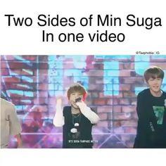 Two side of Yoongi