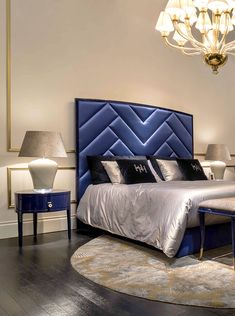 Heritage Collection - Radames bed, Emile bedside table and Trocadero bench www.luxurylivinggroup.com #Heritage #LuxuryLivingGroup