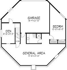 Details about octagon house plans home vintage blueprint design octagon house plans vintage custom octagonal home design and building blueprint books malvernweather Images