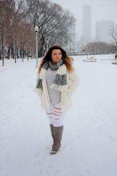Com autumn fashion curvy, winter fashion snow fashion, Autumn Fashion Curvy, Winter Fashion 2015, Curvy Fashion, Snow Fashion, Plus Size Fall Outfit, Plus Size Outfits, Plus Zise, Winter Outfits, Ootd Winter