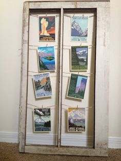 Super easy DIY window frame project. Easy, affordable, and customizable!