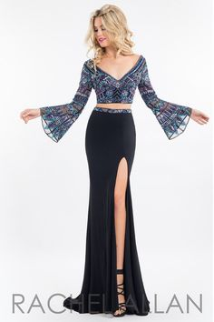 Have a Bohemian dress that is absolutely gorgeously beaded, and it's at Rsvp Prom and Pageant, your source of the HOTTEST Prom and Pageant Dresses!