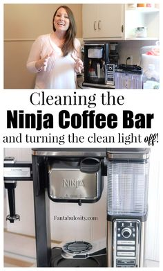 How to Clean the Ninja Coffee Maker and turning that clean light OFF! Just clicking clean and running that cycle won't do much. This is how to really clean this coffee machine! Ninja Coffee Bar Recipes, Ninja Coffee Maker, Coffee Drink Recipes, Best Coffee Maker, Coffee Drinks, Coffee Pods, Coffee Beans, Coffee Coffee, Black Coffee