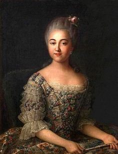 1768 Varvara Sheremetev, later Countess Razumovsky, by Ivan Petrovich Argunov (Museum-Estate Kuskovo - Moskva, Russia) UPGRADE From liveinternet.ru:users:4000579:post386542964: