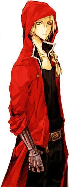 Edward Elric from Fullmetal Alchemist but waaay cooler :D
