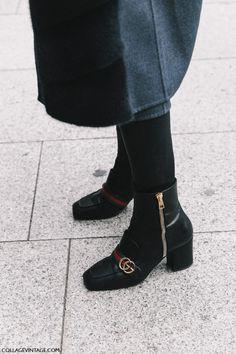 Street Style Paris Haute Couture | Collage Vintage