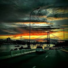Ponte Hercilio Luz, Florianópolis Brazil