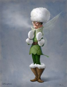 Secret of the Wings - Character Design by Joel Parod...possibly a new character...kind of looks like Bobble.