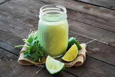 Cilantro Feta Lime Dressing by dietsinreview: A creamy dressing which is fat free and only 25 calories/serving! #Dressing #Lime #Cilantro #Diet