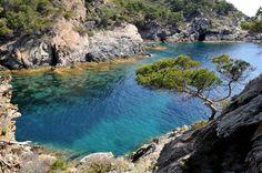 L'île de Porquerolles dans le Var fait partie des îles d'Hyères.