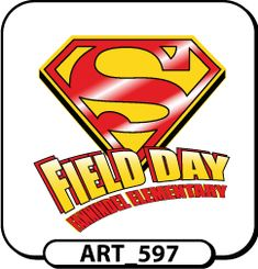 superhero field day t-shirts designs | Request a Free Proof