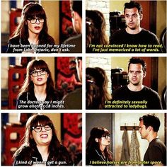"""And when Jess and Nick shared their secrets. 