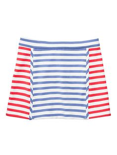 toddlers' stripe a-line skirt