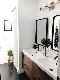 Boy's Mid Century Modern Bathroom Reveal – Home on Mount Forest – Bathroom Inspiration Boys Bathroom, Mid Century Modern Bathroom, Bathroom Renos, Mid Century Bathroom, Modern, Bathroom Interior, Modern Bathroom, Bathrooms Remodel, Bathroom Decor