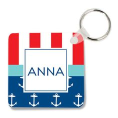 Anchor Mix Key Chain