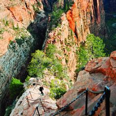 Zion National Park Angels Landing trail