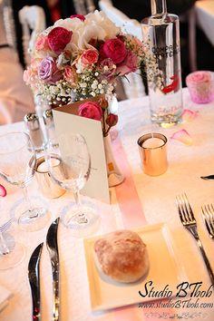 décoration mariage sur le bateau libellule à Annecy mille et une organisations de prestige