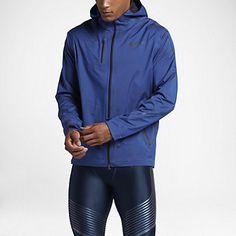 Nike HyperShield Men's Running Jacket Running Jacket, Hooded Jacket, Rain Jacket, Windbreaker, Athletic, Nike, Jackets, Fitness Clothing, Clothes
