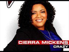 Cierra Mickens - Crazy - Studio Version - The Voice 2014 - YouTube