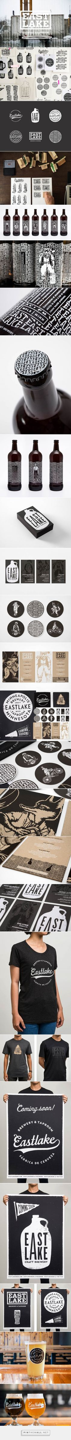 Eastlake Craft Brewery | Identity Designed - created via https://pinthemall.net