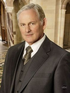 Carrick Grey - Victor Garber. I could see him playing Carrick!
