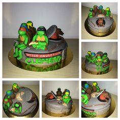 Tortle Ninja cake Tortue Ninja