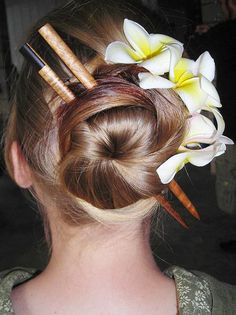 25 best Chopstick Hair Styles images on Pinterest in 2018   Hair ...