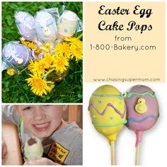 Review of Easter Egg Cake Pops from 1-800-Bakery.com