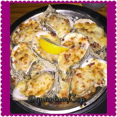 Bacon& Jalopeno & Cheese baked oysters #quantuml3ap