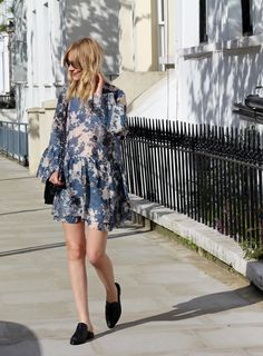 Marie of blog Blame it On Fashion in the Denni Loafer