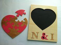 Puzzle romantico personalizado