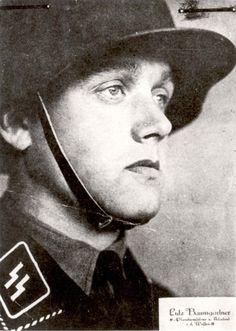 SS-Obersturmfuehrer, Baum Gartner Ludwig, who served in the Flossenburg death camp, in Germany. This is the face that innocent victims saw as they were marched to the gas chambers