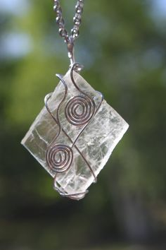 Optical calcite Icelandic Spar stainless steel by CrystalAffinity, $21.95