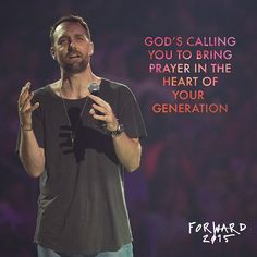 In prayer, for every action there is a greater and more significant reaction. @thebanning #forward2015